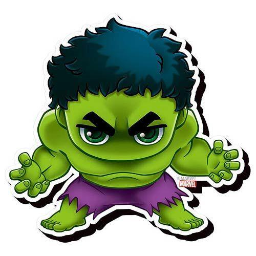 Hulk desenho clipart jpg free stock Avengers Hulk Chibi Funky Chunky Magnet   Geekin\' Out Here ... jpg free stock