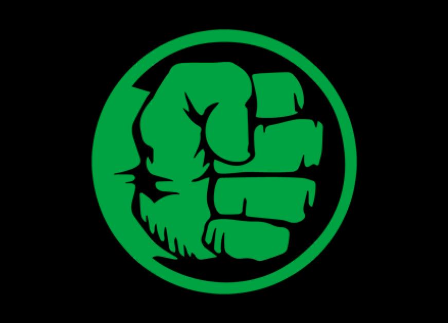 Hulk logo clipart freeuse library Hulk Fist Png - Incredible Hulk Logo , Transparent Cartoon ... freeuse library