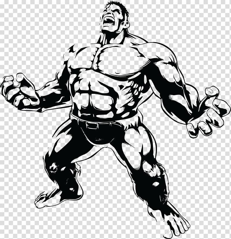 Hulk on motorcycle black and white clipart clip freeuse stock Hulk illustration, Hulk Drawing , hulk hogan transparent ... clip freeuse stock
