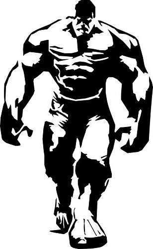 Hulk on motorcycle black and white clipart clipart black and white stock Marvel Avengers Incredible Hulk, Black, 22 Inch, Die clipart black and white stock