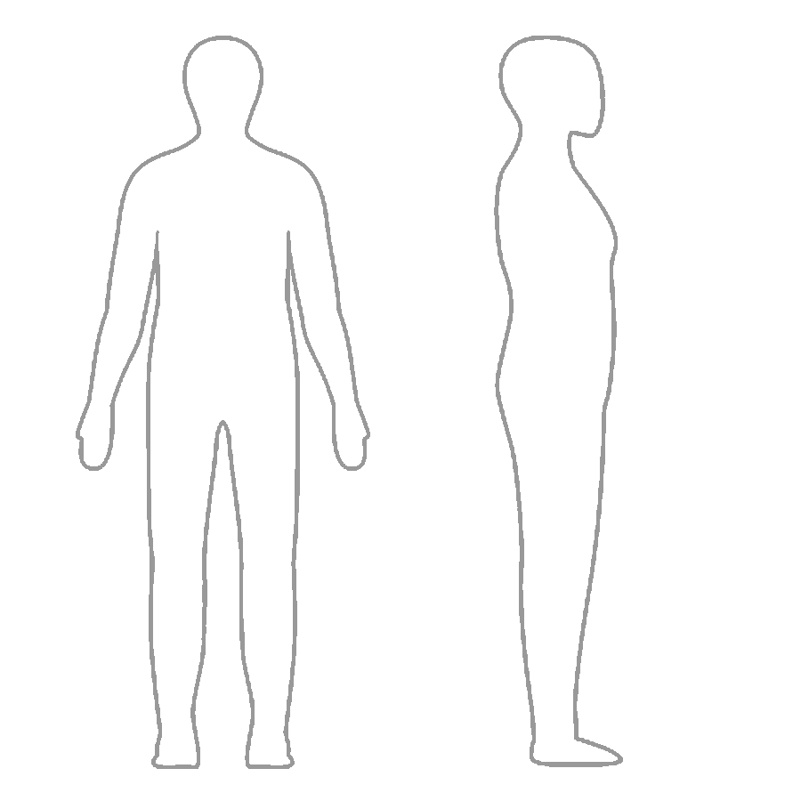 Human body figure clipart vector library stock Simple Human Body Drawing at PaintingValley.com   Explore collection ... vector library stock