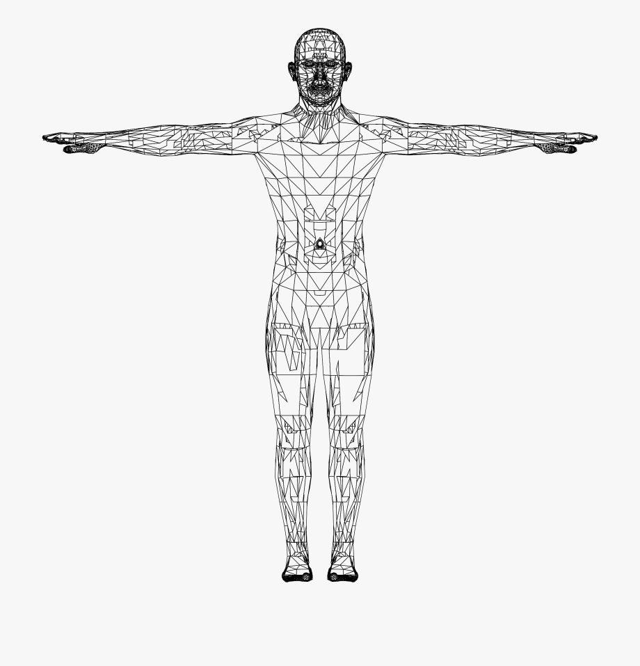 Human body figure clipart library Body Drawing Detailed - Human Figure Human Body Icon #2566695 - Free ... library