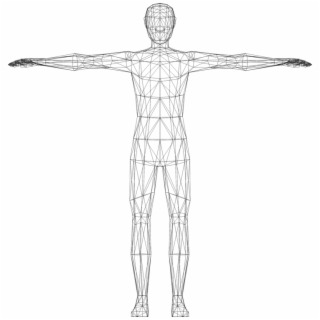 Human body small black and white clipart jpg Free Human Body PNG Images & Cliparts - Pngtube jpg