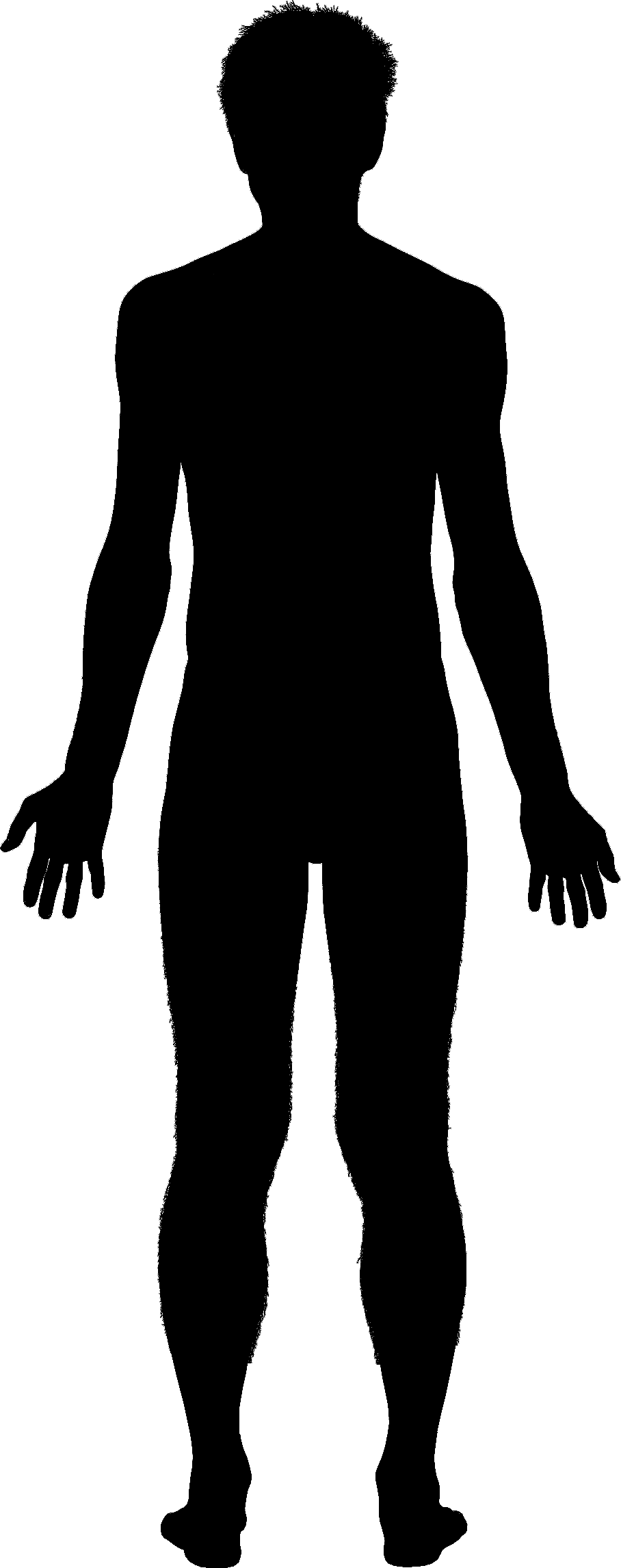Human form clipart image black and white PNG Human Body Outline Transparent Human Body Outline.PNG Images ... image black and white