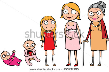 Human life cycle clipart clipart royalty free download Human Life Cycle Stock Images, Royalty-Free Images & Vectors ... clipart royalty free download