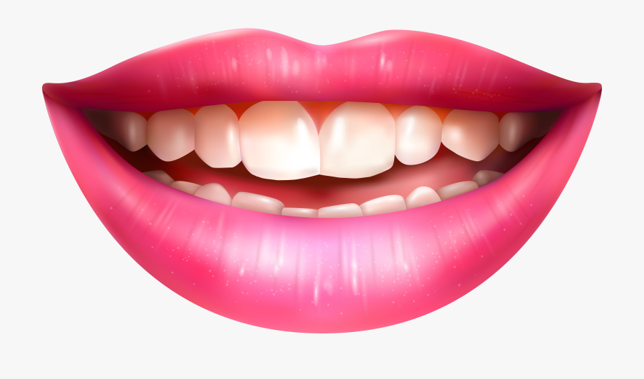 Human mouth clipart vector freeuse stock Lips Clipart Human Mouth - Smiling Mouth Png Transparent #81369 ... vector freeuse stock