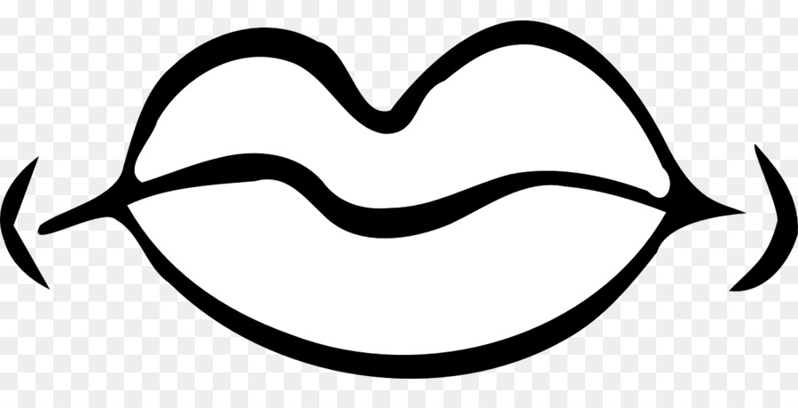 Mouth Black And White Png & Free Mouth Black And White.png ... graphic library stock