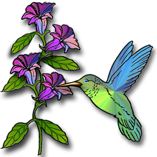 Hummingbird with flower clipart banner library Hummingbird and flower clipart - Clip Art Library banner library