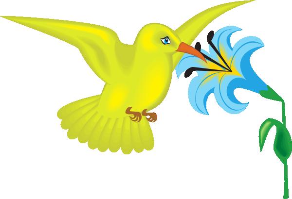 Hummingbirds and flowers clipart vector download Hummingbird With Flowers Clipart - Cliparts and Others Art Inspiration vector download