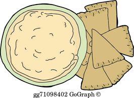 Hummus clipart banner freeuse Hummus Clip Art - Royalty Free - GoGraph banner freeuse
