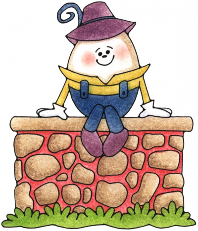 Humpty dumpty sitting on a wall clipart image black and white download Dumpty PNG - DLPNG.com image black and white download