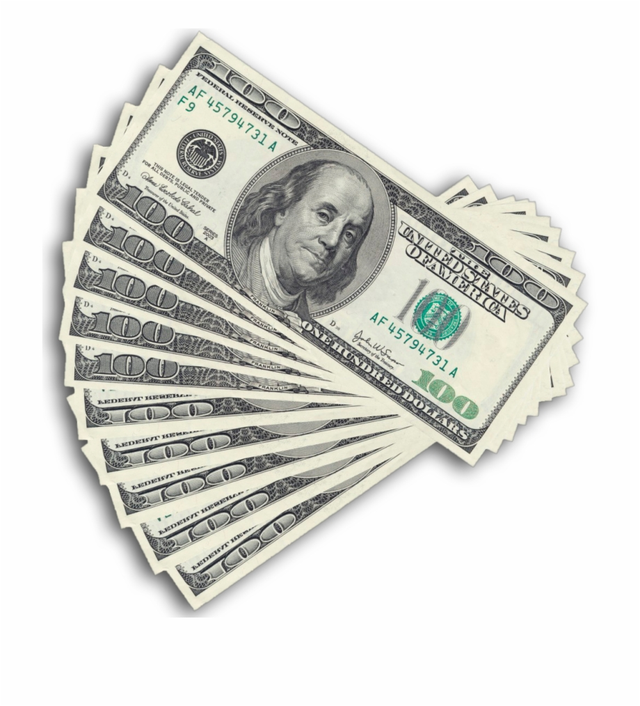 Hundred dollar bills clipart picture library Hundred Dollar Bill Png Free PNG Images & Clipart Download #241659 ... picture library