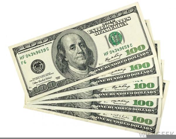 Hundred dollar bills clipart banner transparent stock Clipart Dollar Bills   Free Images at Clker.com - vector clip art ... banner transparent stock