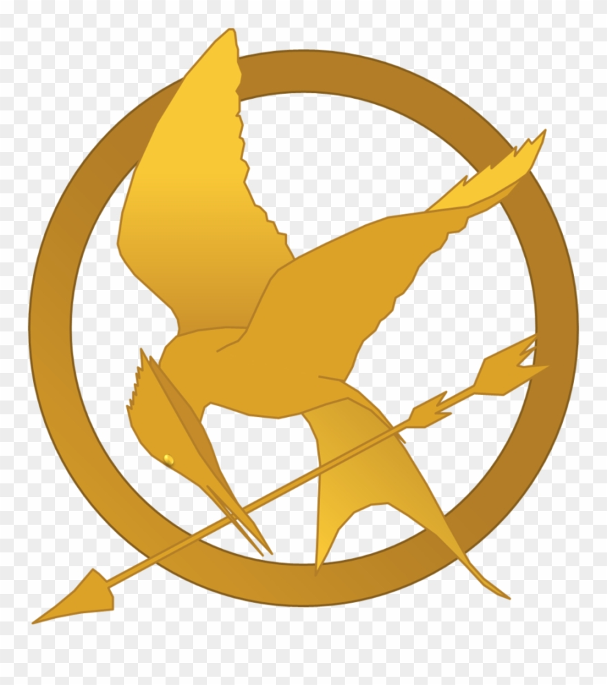 Hunger games clipart graphic transparent Hunger Games Mockingjay Symbol By Randomperson77 - Hunger Games Logo ... graphic transparent