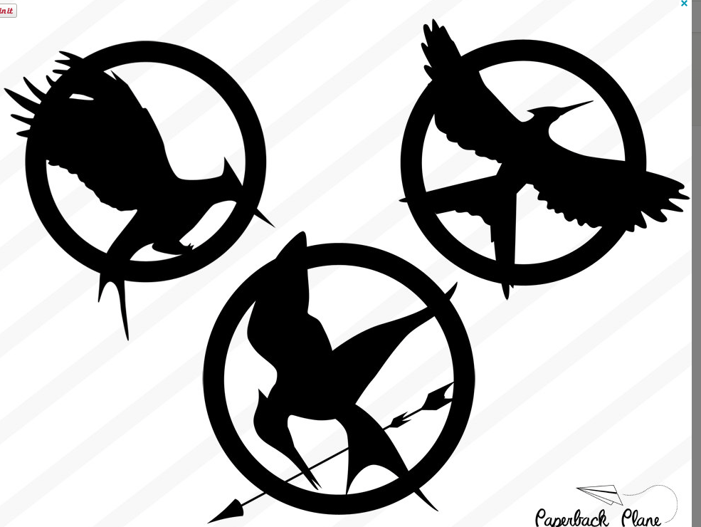 Hunger games clipart banner freeuse hunger game | Cricut Projects | Symbol drawing, Hunger games tattoo ... banner freeuse