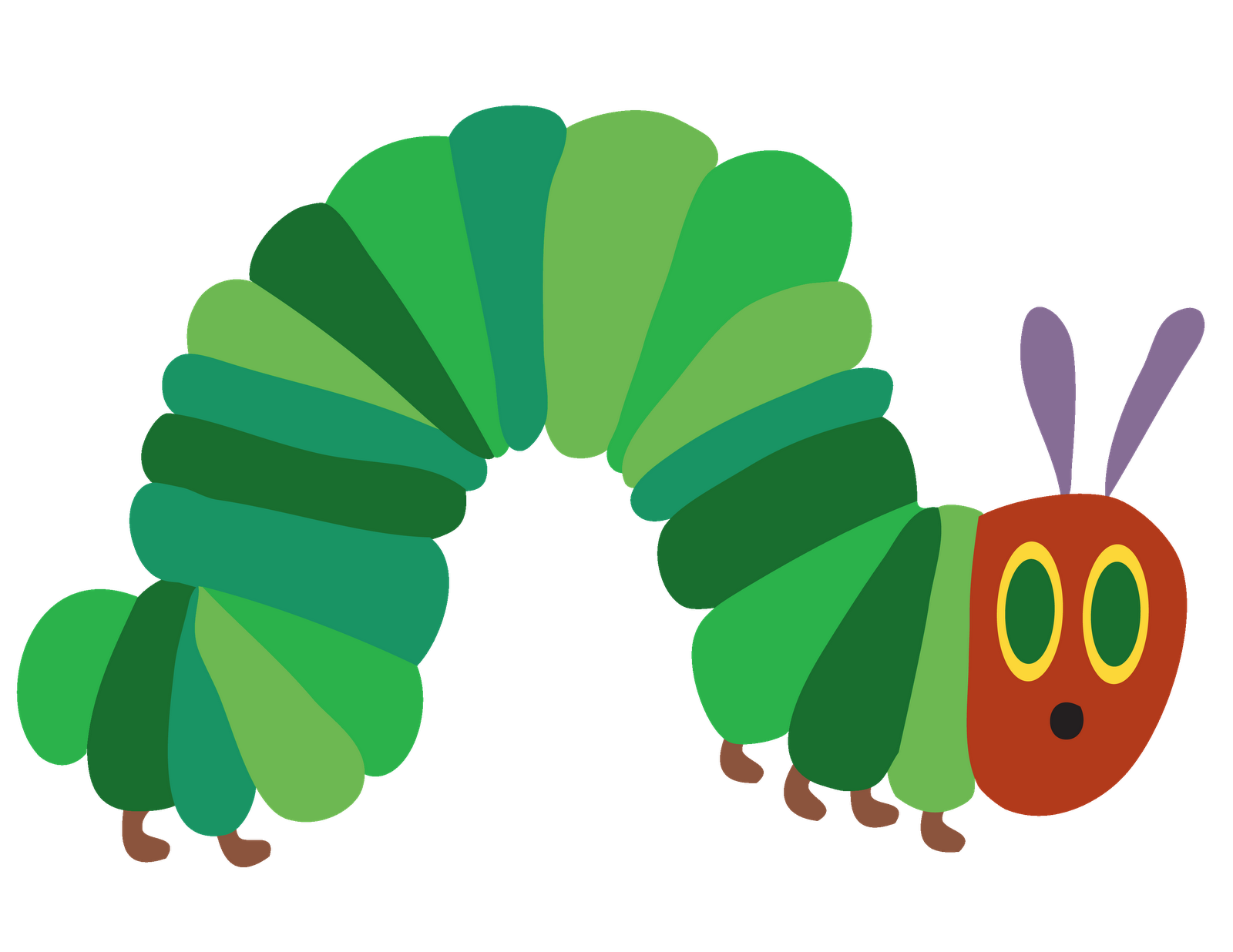 Hungry caterpillar apple clipart clip freeuse The very hungry Caterpillar clip freeuse