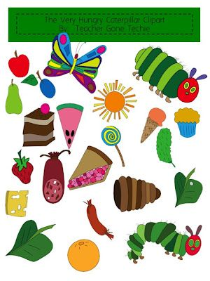 Very hungry caterpillar clipart free royalty free download clipart for the very hungry caterpillar. | Language arts | Hungry ... royalty free download