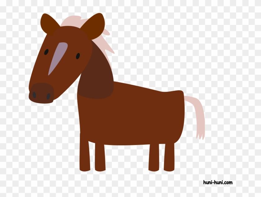 Huni clipart jpg free Huni Huni Flashcard Kabayo Horse Colored2 - Kabayo Clipart - Free ... jpg free