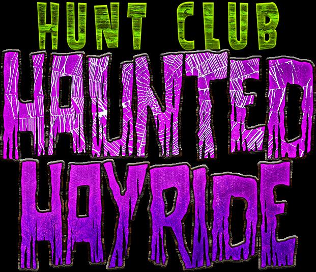 Hunt club turkey logo clipart banner royalty free library Haunted Hayride - Haunted Hunt Club Farm banner royalty free library