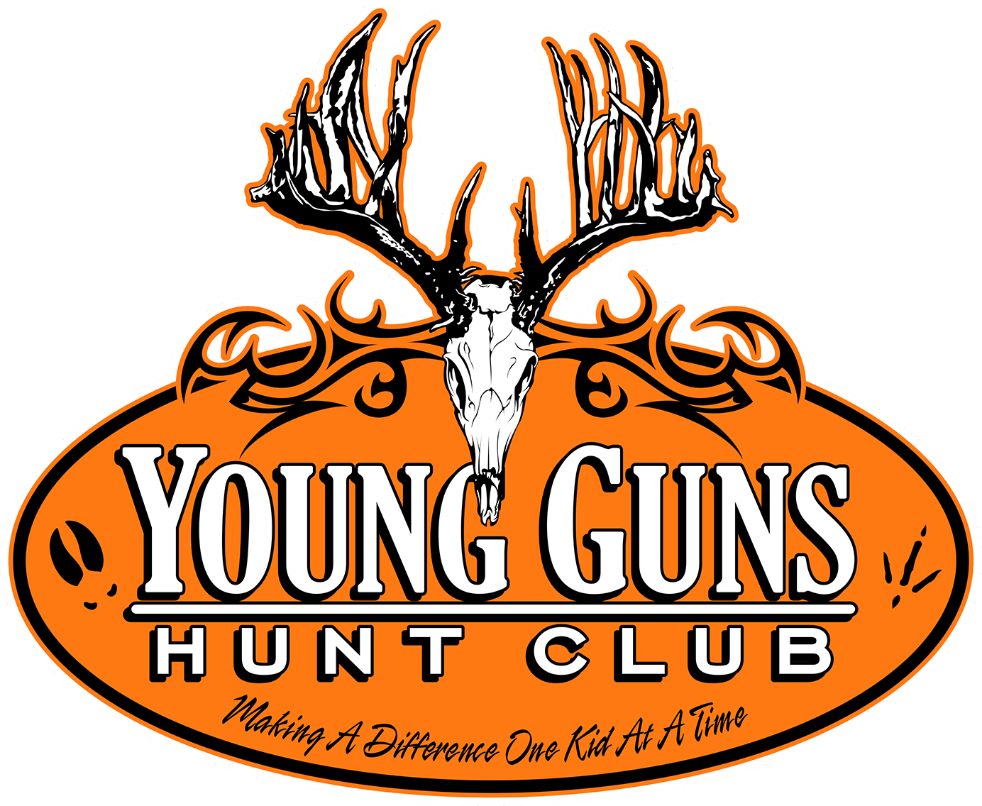 Hunt club turkey logo clipart clipart free library Young Guns Hunt Club – Making A Difference One Kid At A Time clipart free library