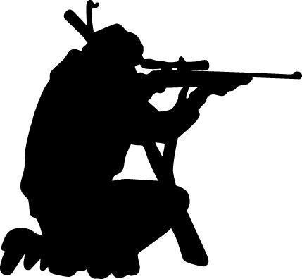 Hunter clipart black and white black and white download Hunting clipart black and white free images 2 - WikiClipArt black and white download