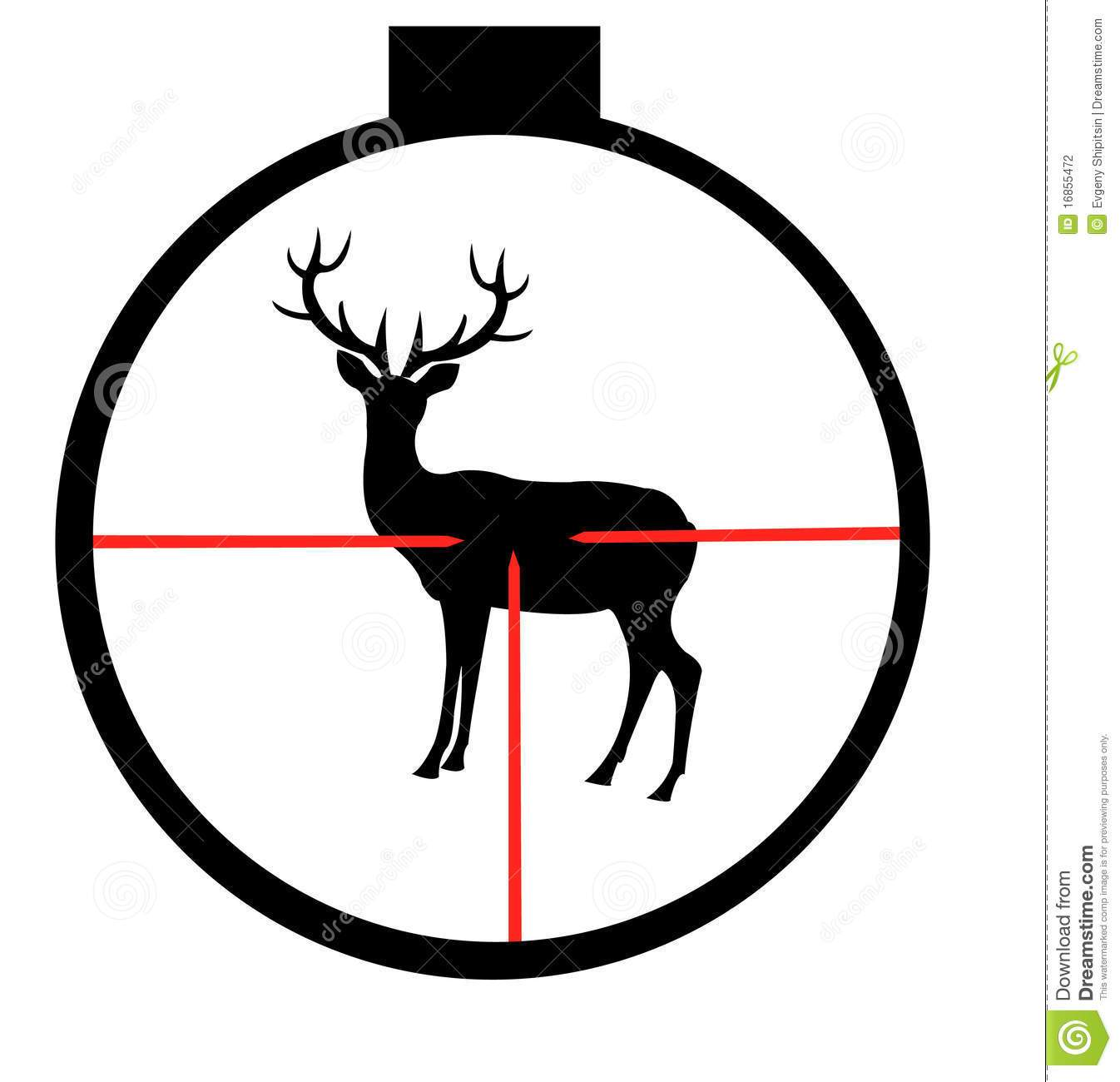 Hunting deer clipart banner black and white download Hunting deer clipart 6 » Clipart Portal banner black and white download