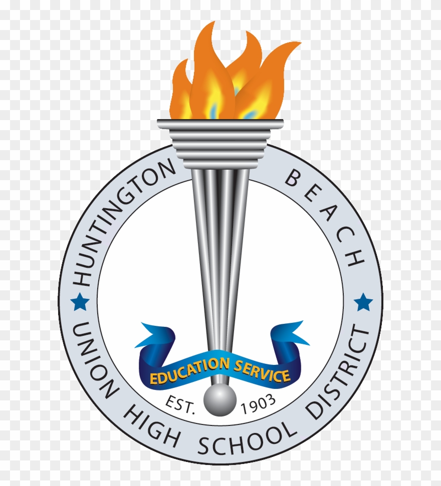 Huntington logo clipart banner library Become A Hbuhsd Fan - Huntington Beach Union High School District ... banner library