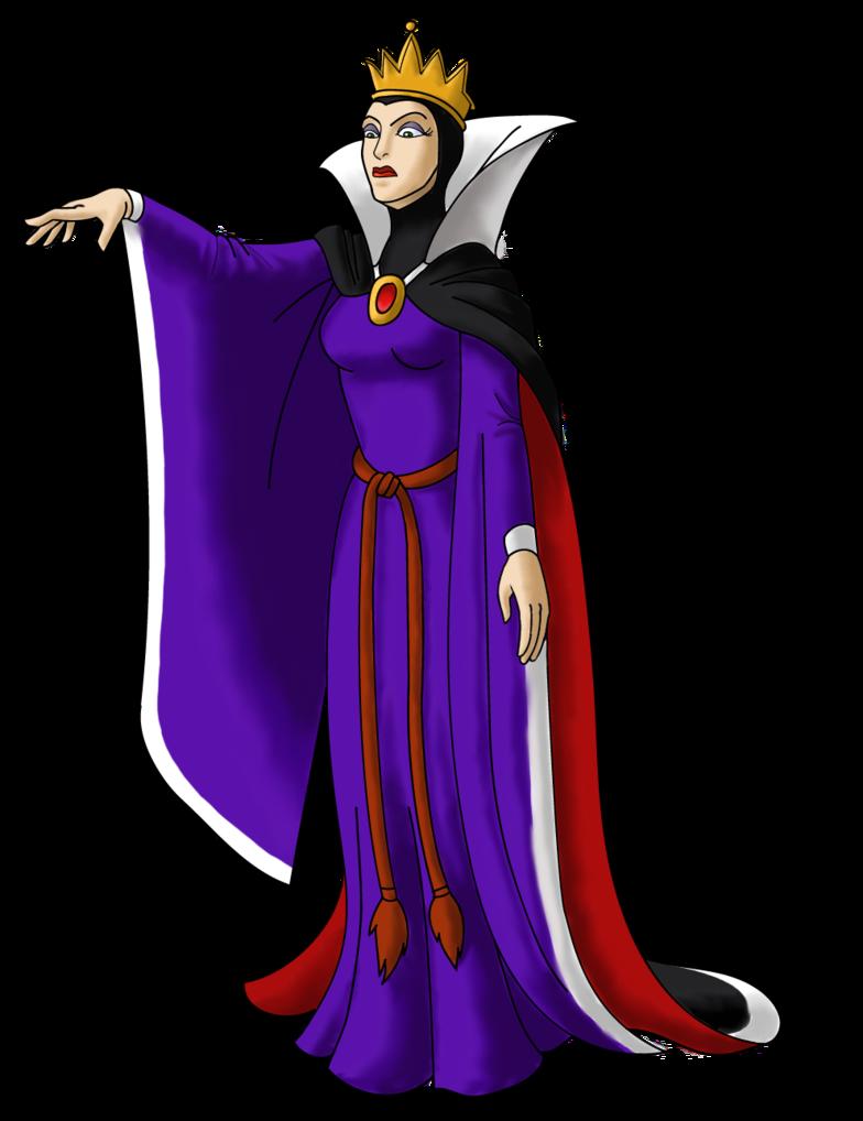 Disney Villain October 20: Queen Grimhilde by PowerOptix on ... clip black and white download