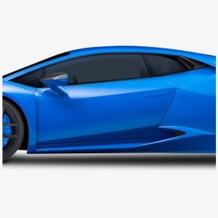 Huracan clipart svg freeuse download Blue Lamborghini Huracan Car - Lamborghini Huracan Side Profile ... svg freeuse download