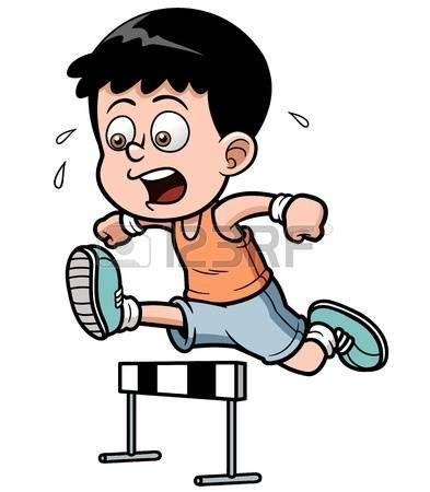 Hurdles clipart vector black and white Image result for children jumping hurdles, clipart | RUNNING THE ... vector black and white