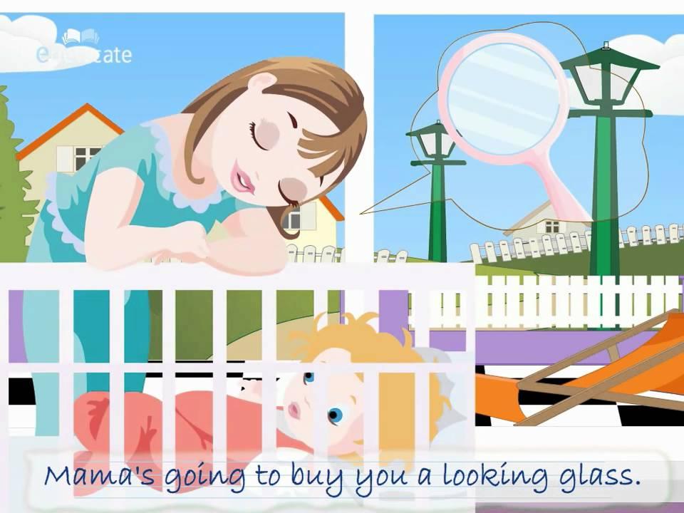 Hush little baby clipart clip art library library Edewcate english rhymes | Hush little baby clip art library library