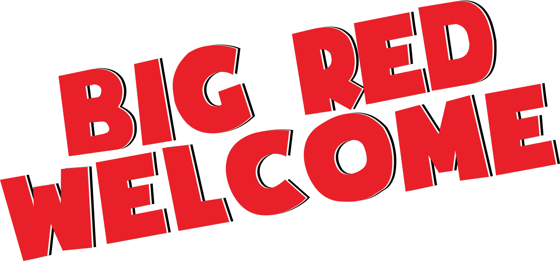 Husker football clipart banner library stock UNL Big Red Welcome | Nebraska banner library stock