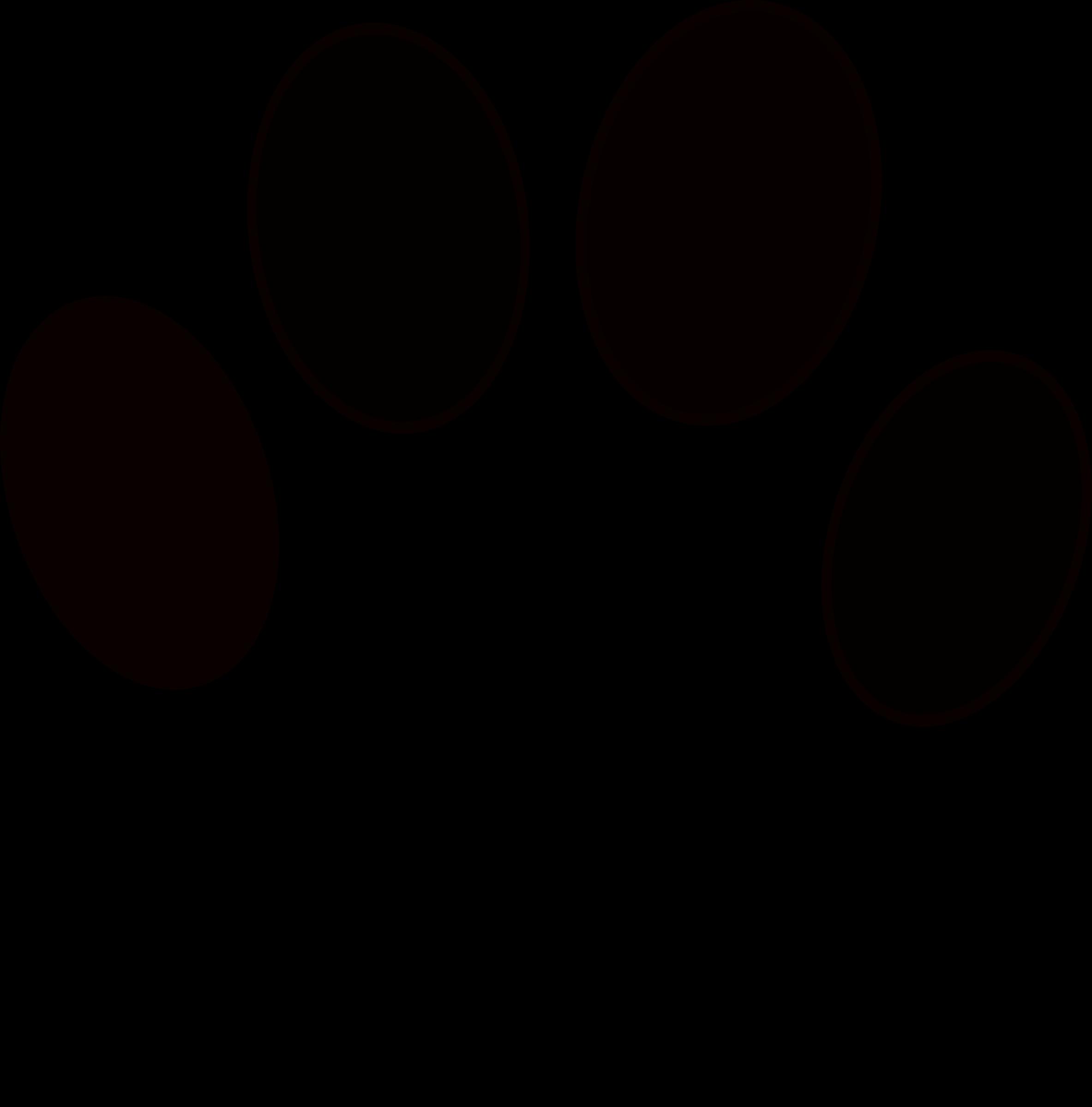 Husky dog clipart black and white graphic transparent Siberian Husky Paw Puppy Clip art - Huella De Perro 2366*2399 ... graphic transparent
