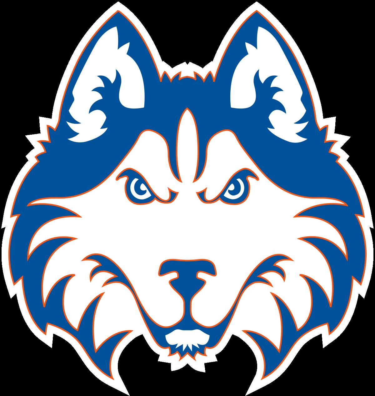 Husky football clipart vector freeuse Houston Baptist Huskies - Wikipedia vector freeuse