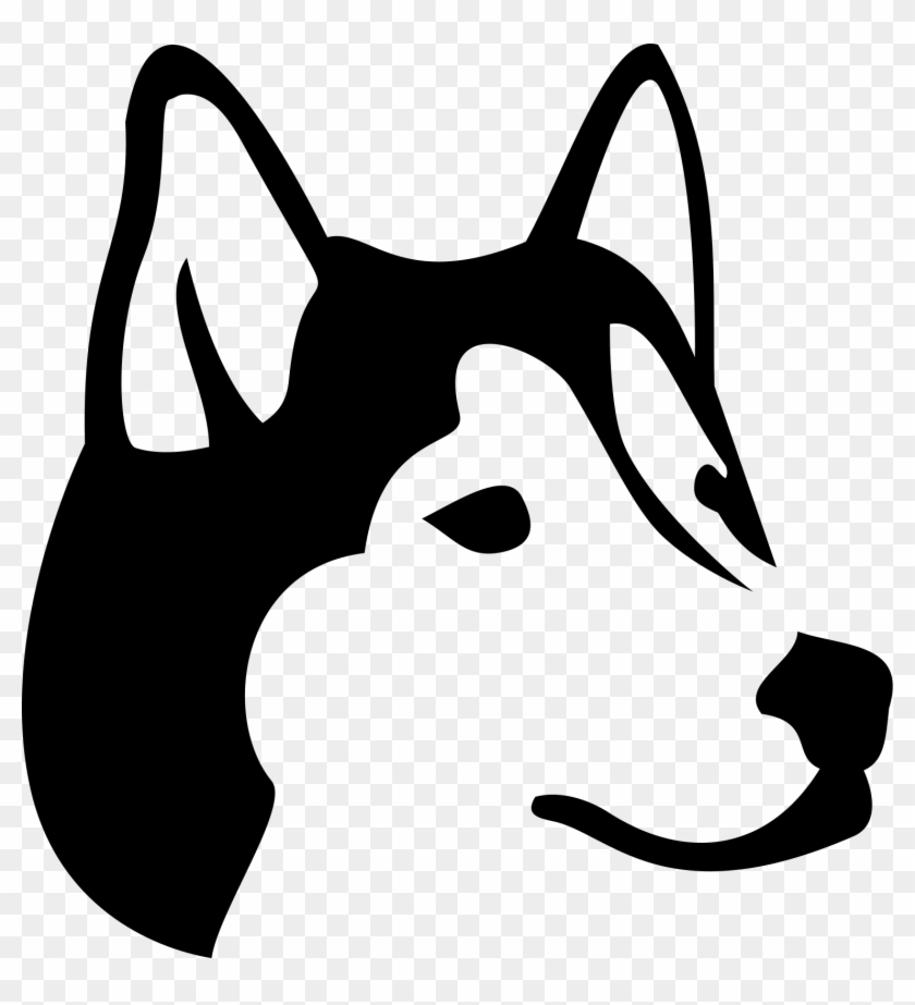 Husky stick figure clipart black and white jpg stock Figure 1 - Husky - Transparent Husky Icon Png, Png Download ... jpg stock