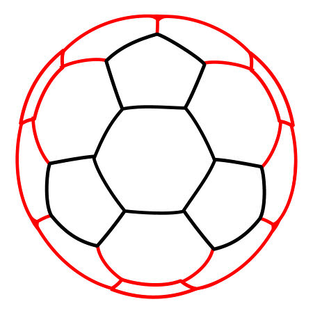Hw to draw a soccer ball clipart clipart free download Drawing a cartoon soccer ball clipart free download