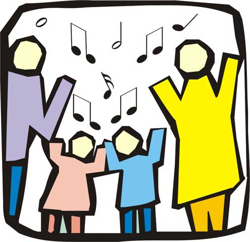 Hymn sing clipart clipart transparent download Christian Singing Clipart - Clip Art Library clipart transparent download