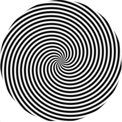 Hypnotize clipart clip black and white download How to hypnotize someone. | Amazing !!! in 2019 | Optical illusions ... clip black and white download