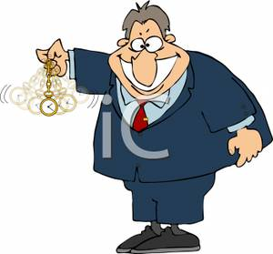 Hypnotize clipart png A Man Using A Pocket Watch To Hypnotize Someone - Royalty Free ... png