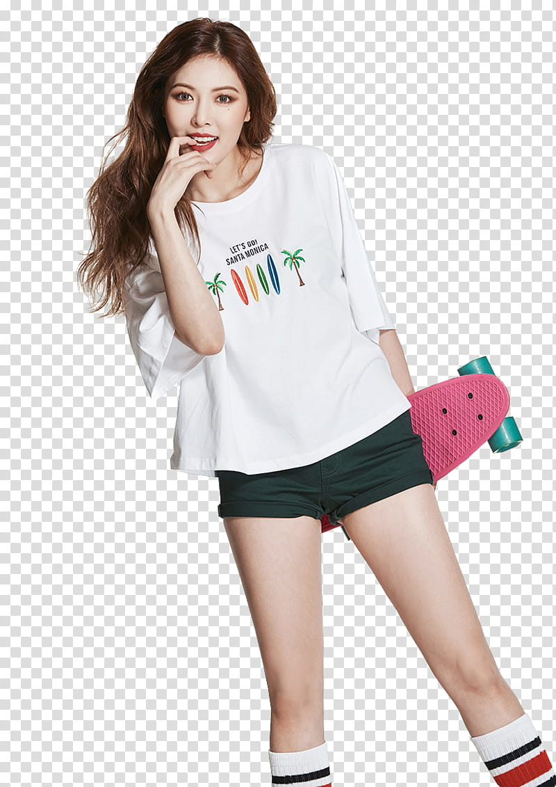 Hyuna clipart picture free HYUNA, woman wearing white shirt transparent background PNG ... picture free