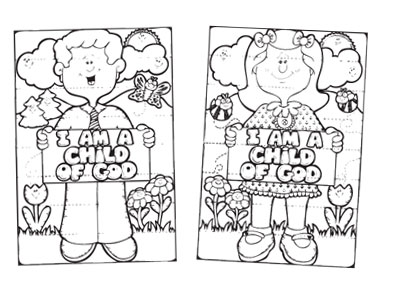 I am a child of god clipart black and white svg stock I Am A Child Of God Presentation - BW svg stock