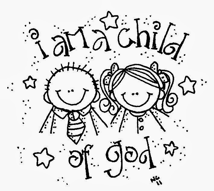 I am a child of god clipart invite clipart library stock Melonheadz LDS illustrating: I am a child of God clipart library stock