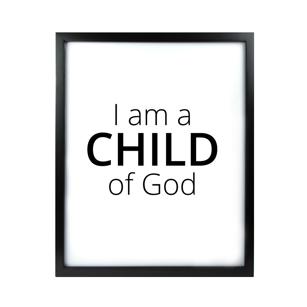 I am a child of god clipart invite vector freeuse library I Am A Child of God LDS Quote Wall Art - Modern vector freeuse library