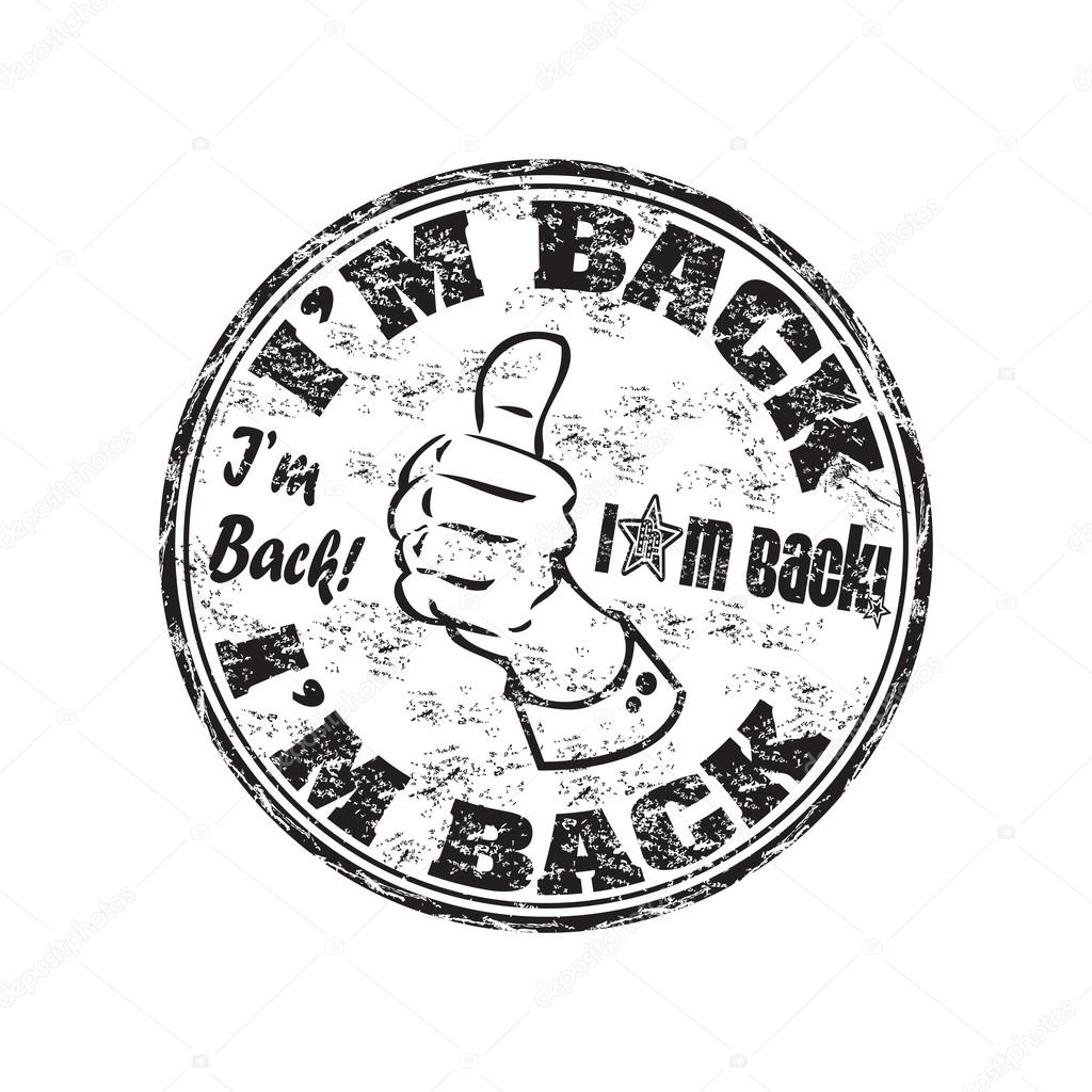 I am back clipart black and white Back clipart i m - 37 transparent clip arts, images and ... black and white