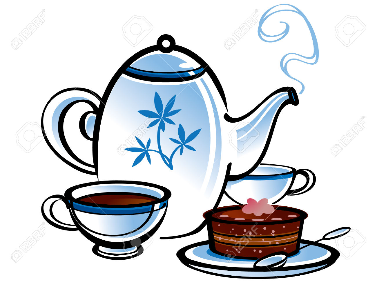 I am here for the tea party clipart picture royalty free library Mad Hatter Tea Party Clipart | Free download best Mad Hatter ... picture royalty free library