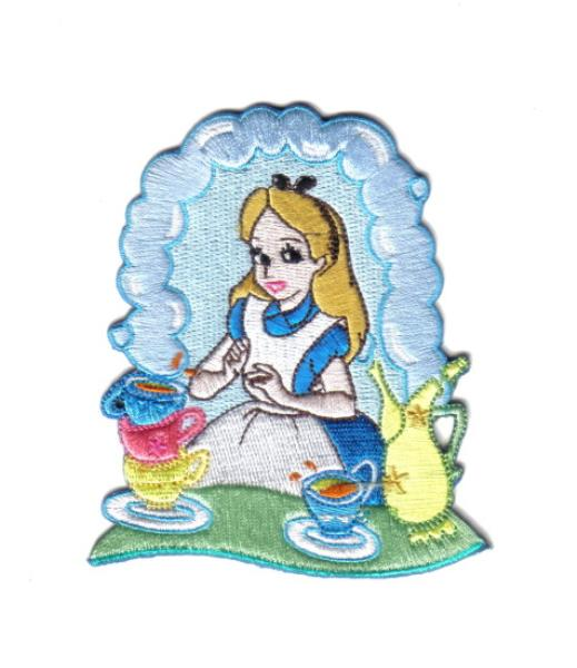 I am here for the tea party clipart vector free library Details about Walt Disney\'s Alice in Wonderland with Tea at the Tea Party  Patch NEW UNUSED vector free library