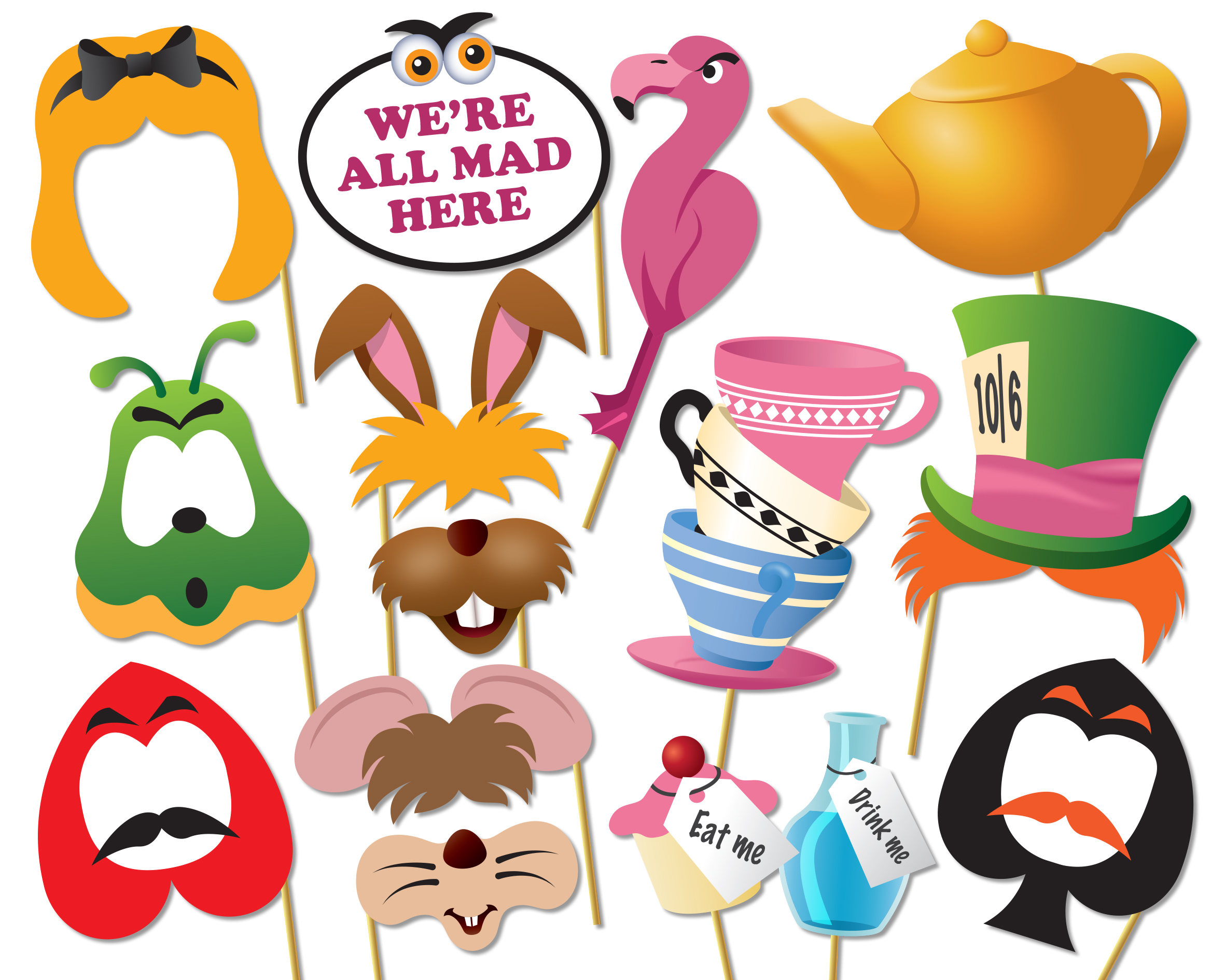 I am here for the tea party clipart jpg black and white stock Mad Hatter Tea Party Clipart | Free download best Mad Hatter ... jpg black and white stock