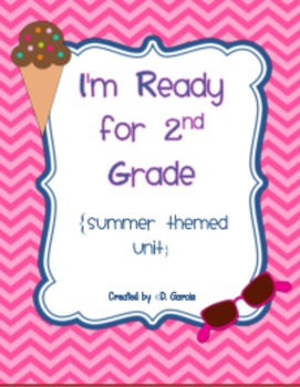 I am ready for first grade clipart jpg black and white I\'m Ready for 2nd Grade {summer themed unit/printables} jpg black and white