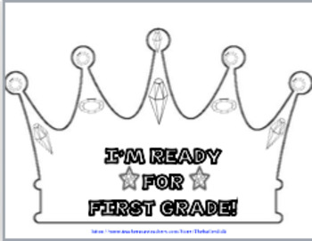 I am ready for first grade clipart graphic \