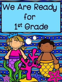 I am ready for first grade clipart clip black and white download Kindergarten Summer Homework: I\'m Ready for First Grade ... clip black and white download